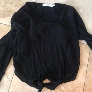 Astr Tops - Black blouse